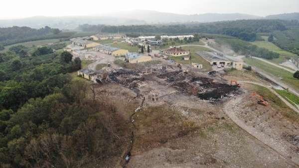 Havai fişek fabrikasındaki patlamaya ilişki 7 şüpheli hakkında 22 yıl 6'şar ay h