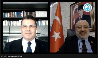 Prof. Dr. Ruhi Ersoy, Kayseri Üniversitesi'nde Online Akademik Yıl Açış Dersi Ve