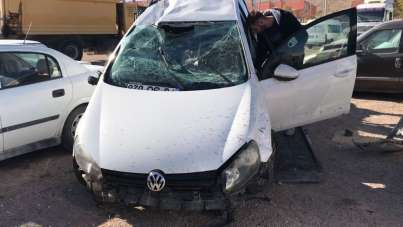 Sivas'ta trafik kazası: 1 ölü, 3 yaralı