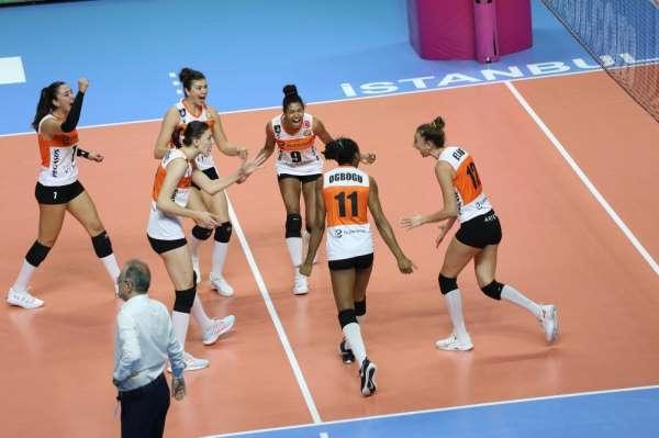 Sultanlar Ligi: Galatasaray HDI Sigorta: 3 - Eczacıbaşı VitrA: 2
