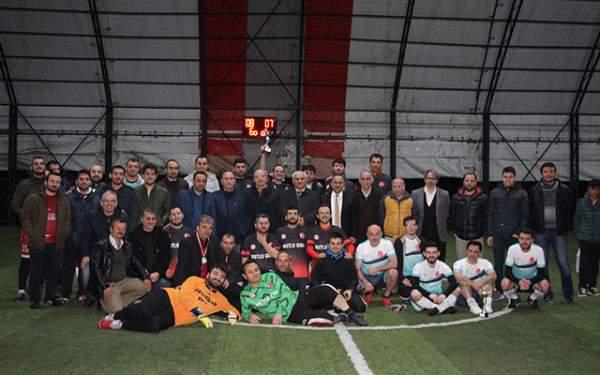 Samsun Haberleri: Havza'da Öğretmenler Günü Nedeniyle Futbol Turnuvası Yapıldı