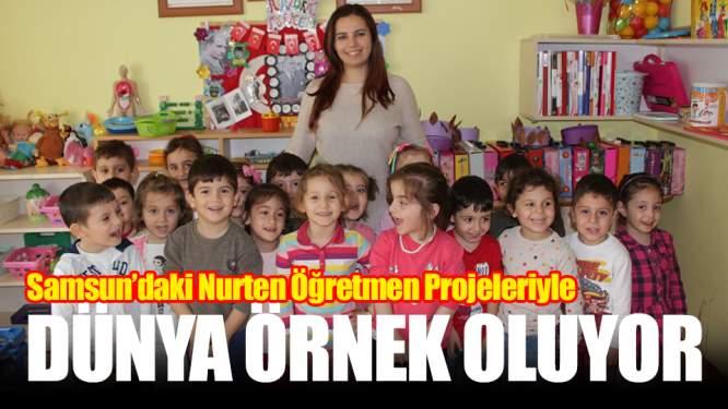 Samsun Haberleri: Samsun'daki Öğretmen Projeleriyle Dünyaya Örnek Oluyor!
