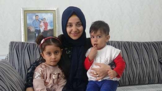 Afrin'de şehit olan işçinin eşi: 'Şehit eşi olduğumdan dolayı gururluyum'