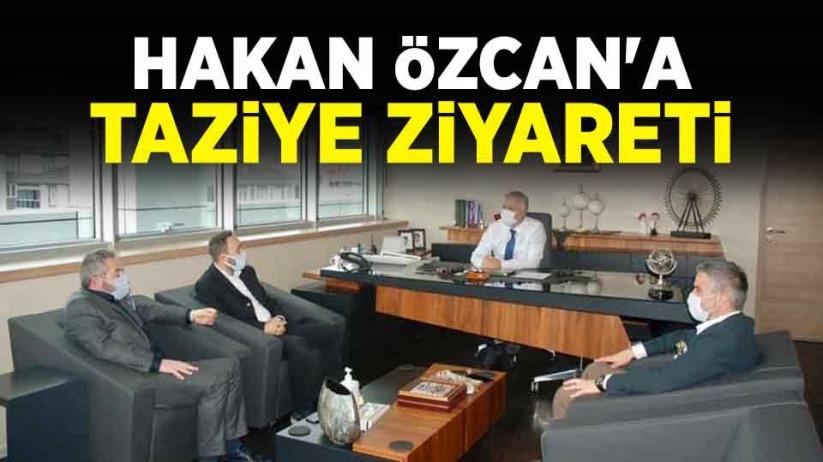 Hakan Özcana taziye ziyareti