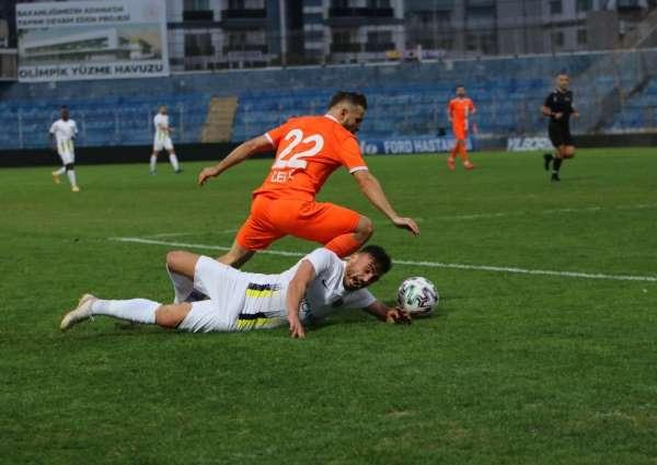 TFF 1. Lig: Adanaspor: 2 - Menemenspor: 3