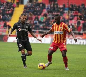 Spor Toto Süper Lig: İstikbal Mobilya Kayserispor: 2 - Beşiktaş: 2 (Maç Sonucu)