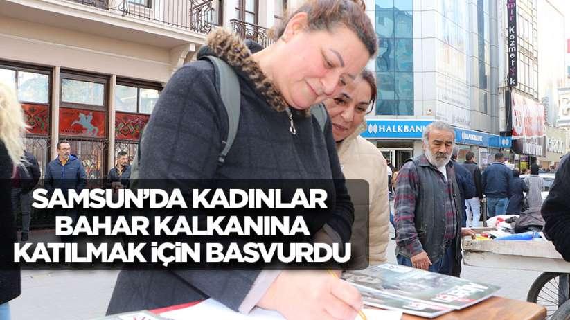 Samsun'da 100 kadın, askere gitmek için gönüllü imza attı
