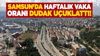 Samsun'da haftalık vaka oranı dudak uçuklattı!