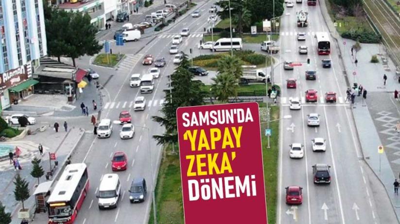 Samsun'da trafikte 'Yapay Zeka' dönemi