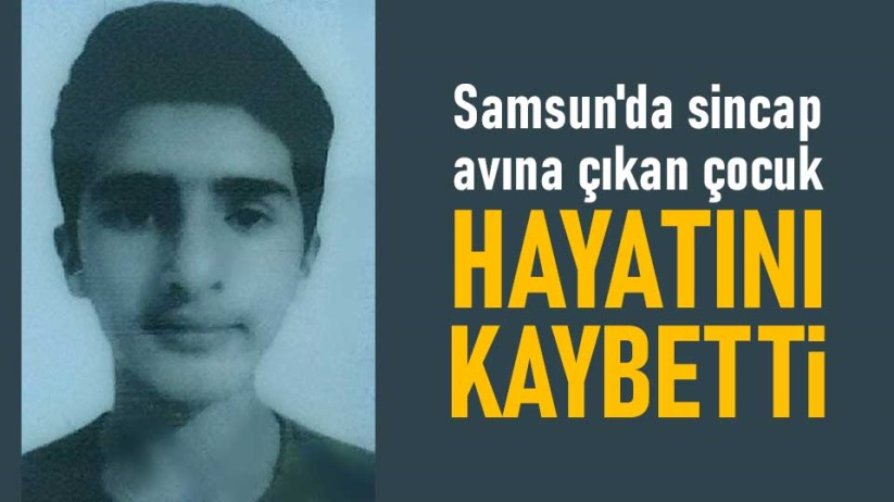Samsun'da sincap avına çıkan çocuk hayatını kaybetti