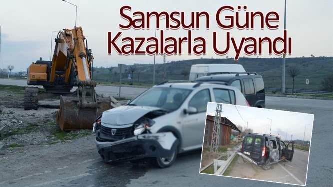 Samsun Havza'da kaza