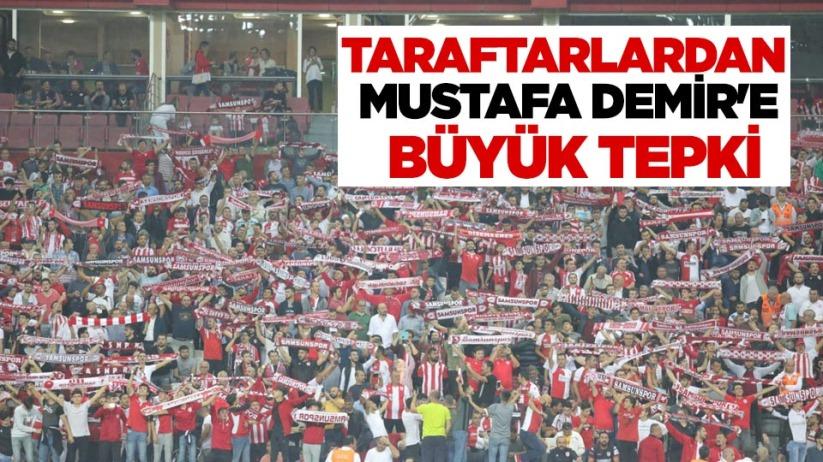 Taraftarlardan Mustafa Demire Büyük Tepki
