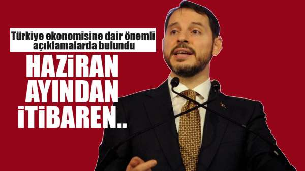 Bakan Albayrak: 'Haziran ayında cari fazla öngörüyoruz'
