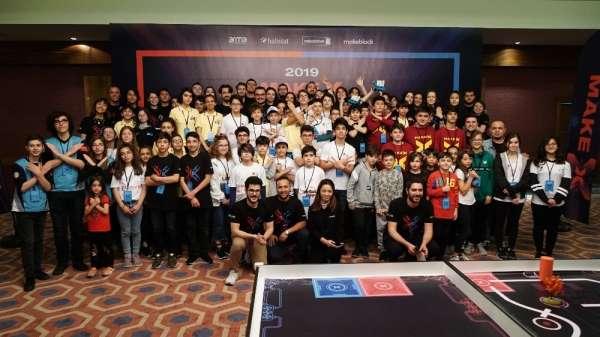 'MAKEX 2019 Robot Turnuvası'na damga vurdular