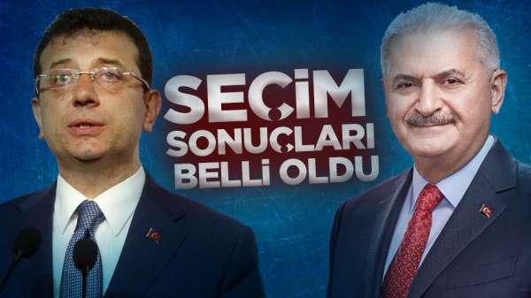 23 Haziran İstanbul Secim sonuçları belli oldu