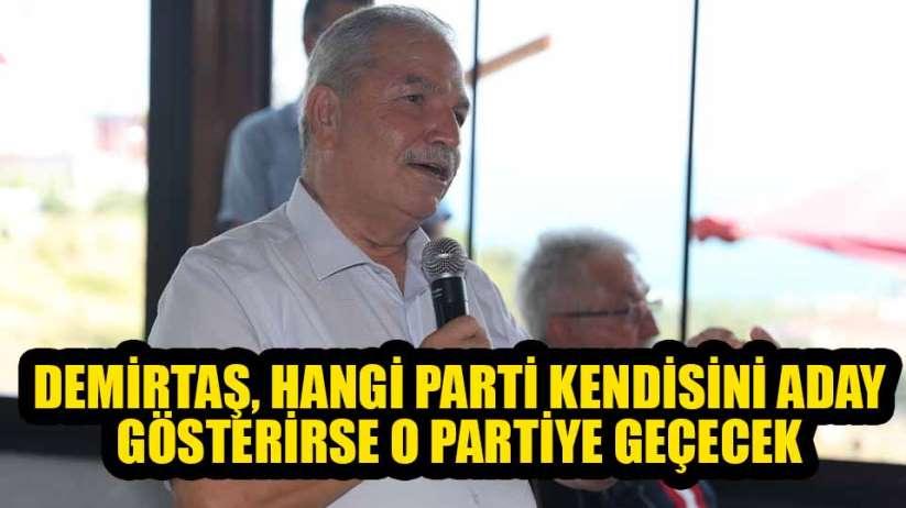 Başkan Demirtaş: 'Ben İYİ Parti'ye misafir olarak geldim'
