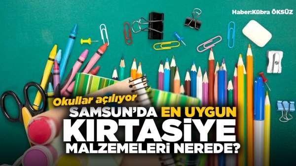Okullar açılıyor! Samsun'da en uygun kırtasiye malzemeleri nerede