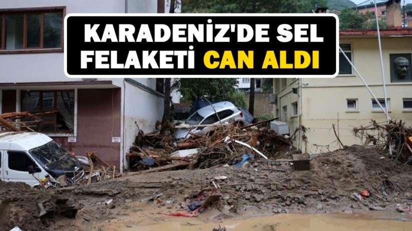 Karadenizde sel felaketi can aldı