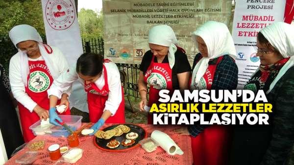 Samsunda asırlık lezzetler kitaplaşıyor