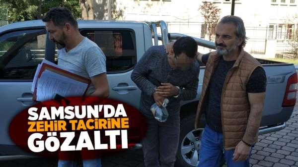 Samsun'da zehir tacirine gözaltı