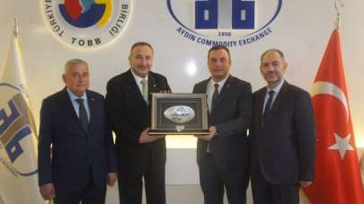 Kardeş borsalar İstanbul ve Alaşehir Ticaret Borsası'ndan Aydın Ticaret Borsası'