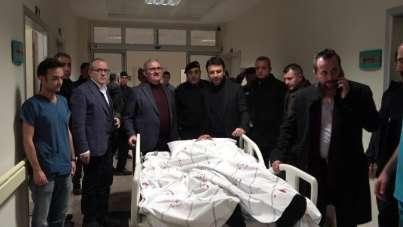Kaza geçiren AK Parti Milletvekili Aydın, ameliyat olacak