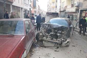 Kırıkkale'de trafik kazası, 2'si ağır 3 yaralı