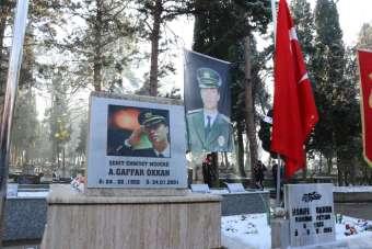 Şehit Emniyet Müdürü Ali Gaffar Okkan, şehadetinin 19. yıl dönümünde mezarı başı