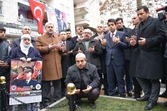Şehit Emniyet Müdürü Ali Gaffar Okkan ve silah arkadaşları unutulmadı
