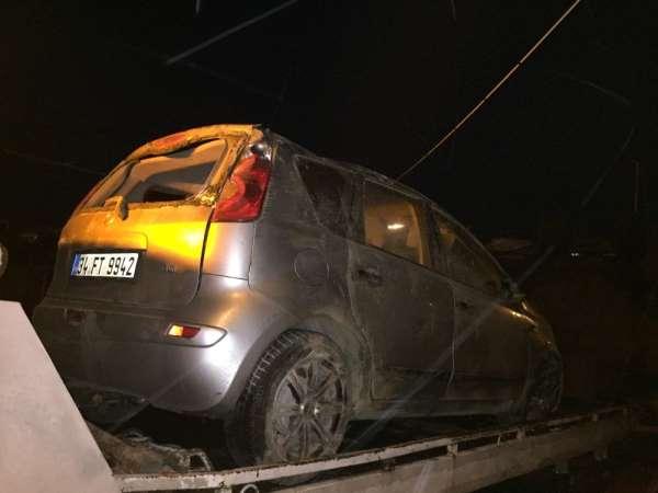 Tosya'da kaza, 2 yaralı