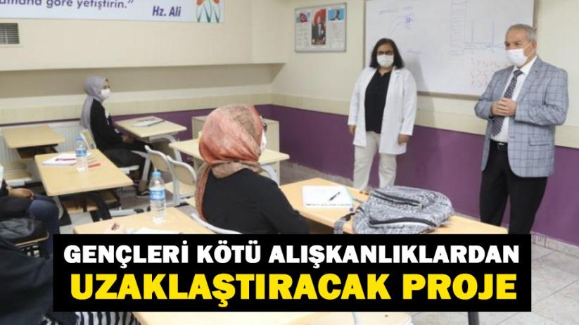 Samsun'da gençleri kötü alışkanlıklardan uzaklaştıracak proje