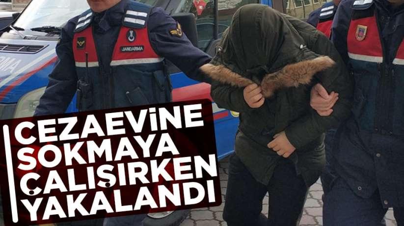 Samsun'da cezaevine uyuşturucu sokmaya çalıştı, yakalandı