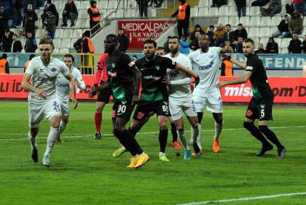 Süper Lig: Kasımpaşa: 2 - Denizlispor: 0 Maç sonucu