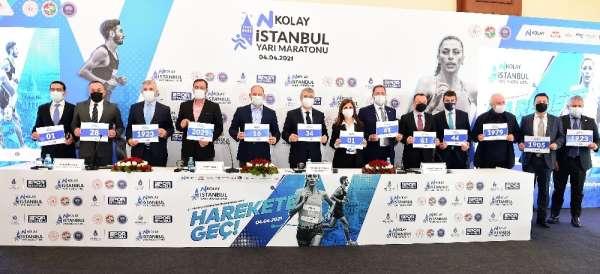 16. NKolay İstanbul Yarı Maratonu basın toplantısı yapıldı