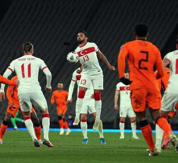 2022 FIFA Dünya Kupası Elemeleri: Türkiye: 2 - Hollanda: 0 (İlk yarı)