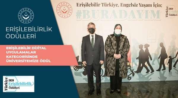 Anadolu Üniversitesi, Dijital Uygulamalar Kategorisinde erişilebilirlik ödülüne layık görüldü