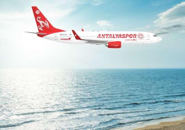 Corendon Airlinesten Antalyaspora final hediyesi takım uçağı