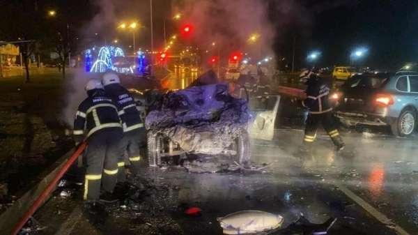 Eski milletvekilinin oğlunun öldüğü kazada sürücü hakim karşısına çıktı