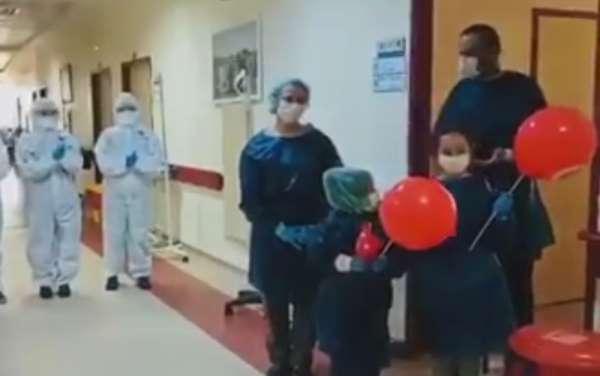 4 kişilik aile korona virüsü yendi