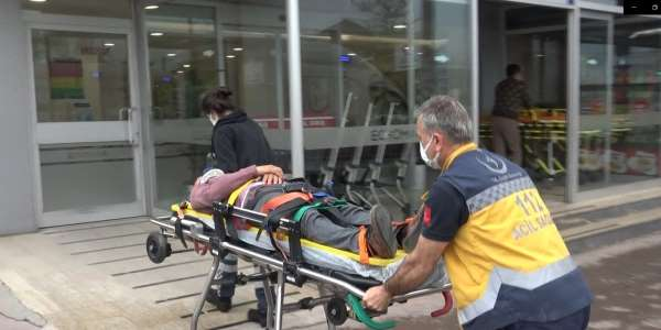 Metal fabrikasında iş kazası: 1 yaralı