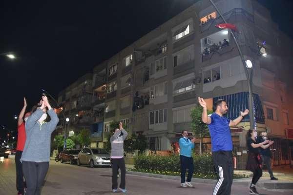 Salihli'de 'Evde kal, hareketsiz kalma' etkinliği