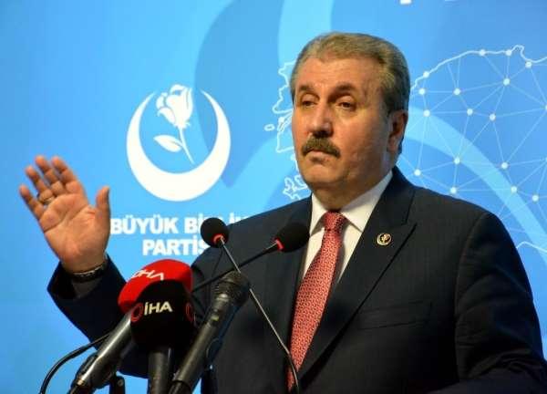 BBP Genel Başkanı Destici: 'Teröre çeşitli yollarla destek sağlayanlar milletimi