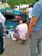 İzmir'de feci kaza: 4 yaralı