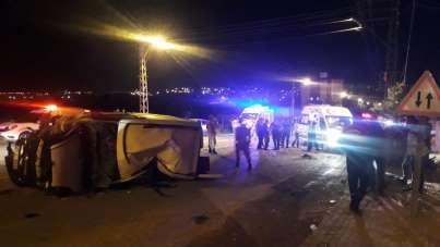 Kilis'te trafik kazası: 1 ölü, 4 yaralı