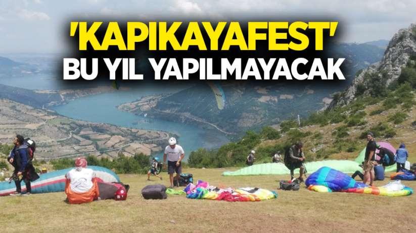 Korona tedbirleri kapsamında 'Kapıkayafest' bu yıl yapılmayacak