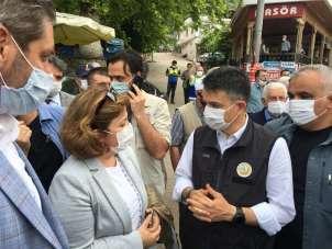 TARSİM'den Bursa'ya geçmiş olsun ziyareti