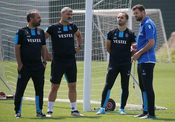 Trabzonspor, MKE Ankaragücü maçı hazırlıklarına başladı