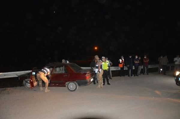 Trafik kazası 1 ölü 2 yaralı