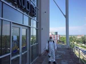 Trakya Üniversitesi, YKS'nin yapılacağı binalarda dezenfeksiyon işlemi yaptı