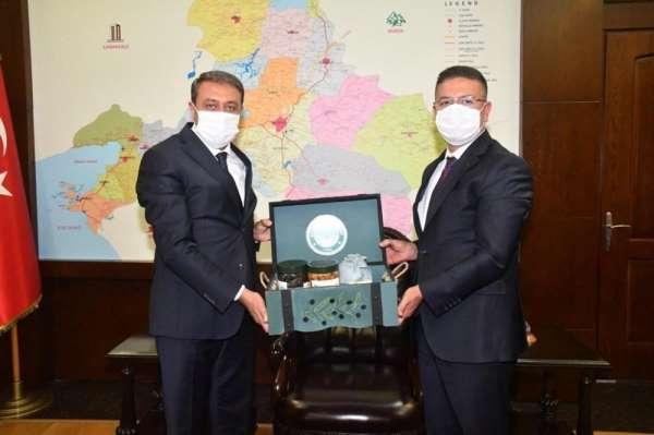 Vali Şıldak, Balıkesir Üniversitesini ziyaret etti